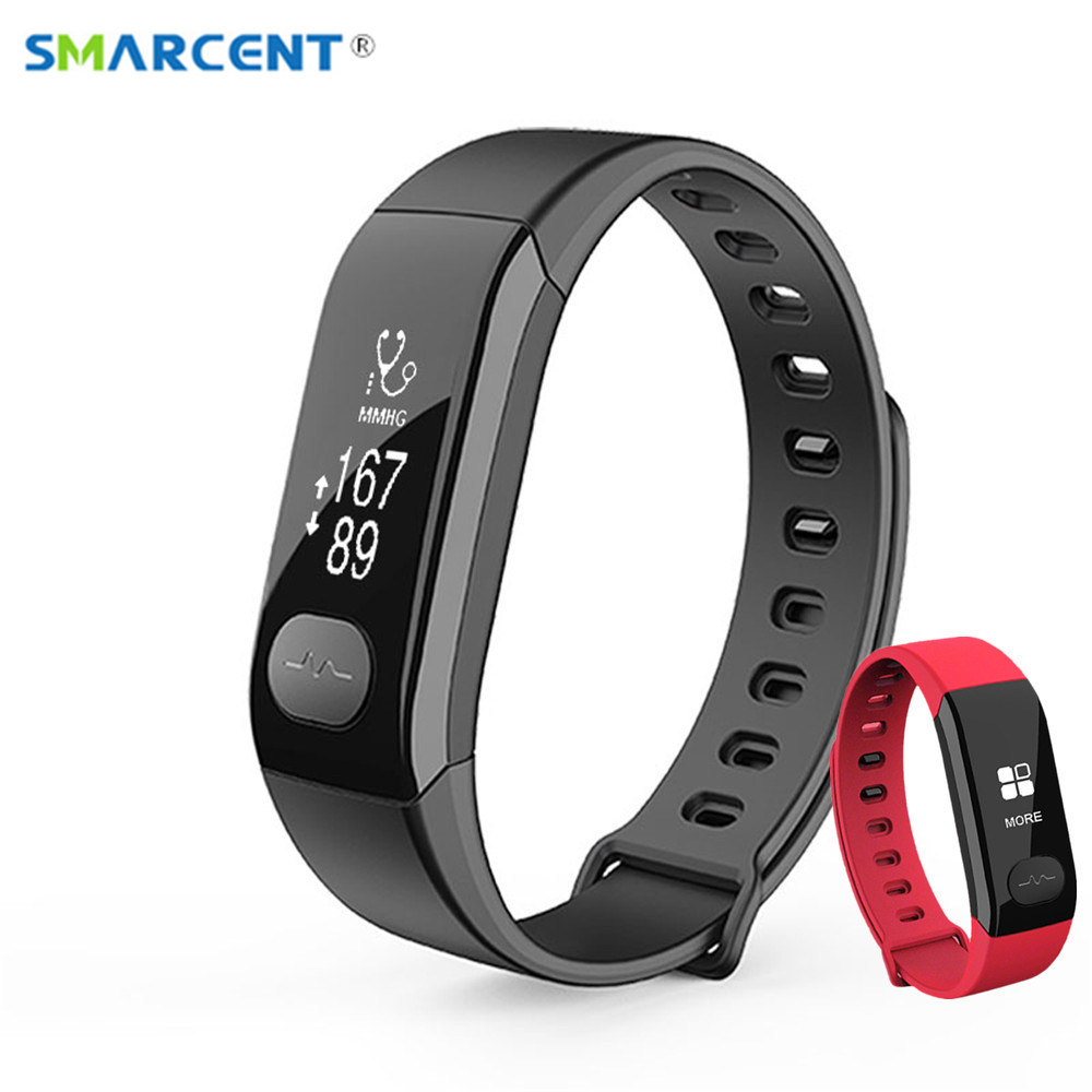 SMARCENT E29 EKG Smart Armband Schlaf Pulsmesser Smart Band Fitness Tracker Blutdruck Armband für Andriod IOS