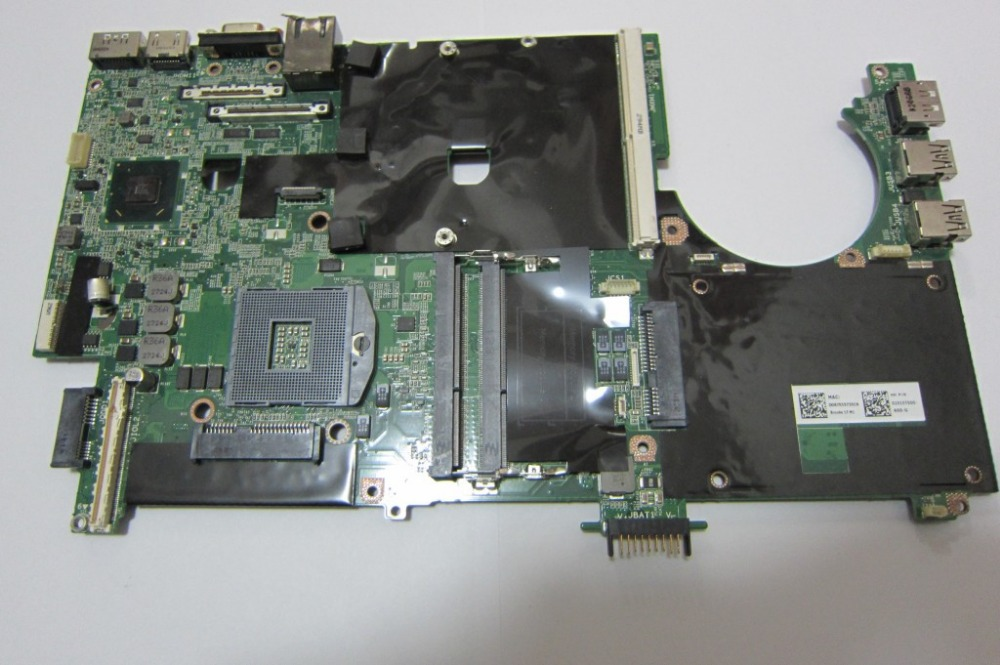 0NVY5D Free shipping laptop motherboard for Dell Precision M6600 graphics card full tested 45 days warranty