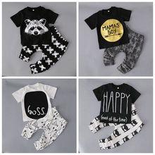 Baby boy одежда bebe Случайные мальчики одежды, маленький Ребенок Infantil комбинезон детская одежда детские Мальчиков нежные детские набор R3052
