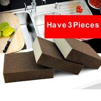 Temos 3 Peças de Esmeril esponja esfregar magia escala nano esponja Ir para a mancha limpe a esponja de limpeza materiais de limpeza Da Cozinha RD612