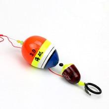 Sea Pole Ocean Rock Floating Fishing Float Foam Floats Support Glow Luminous Stick Inserted Buoy Kit  set