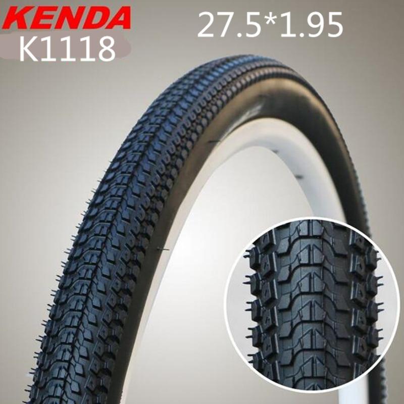 Kenda 27.5X1.95 bicycle tire mountain bike tyres MTB Bicycle Parts K1118 kenda mtb bicycle tire 27 5x1 95 mountain bike tyres bicycle parts k1118