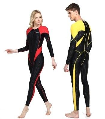 Swimsuit Bathing-Cloth Watersports Sharkskin One-Piece Bodybuilding Women Racing Surfing