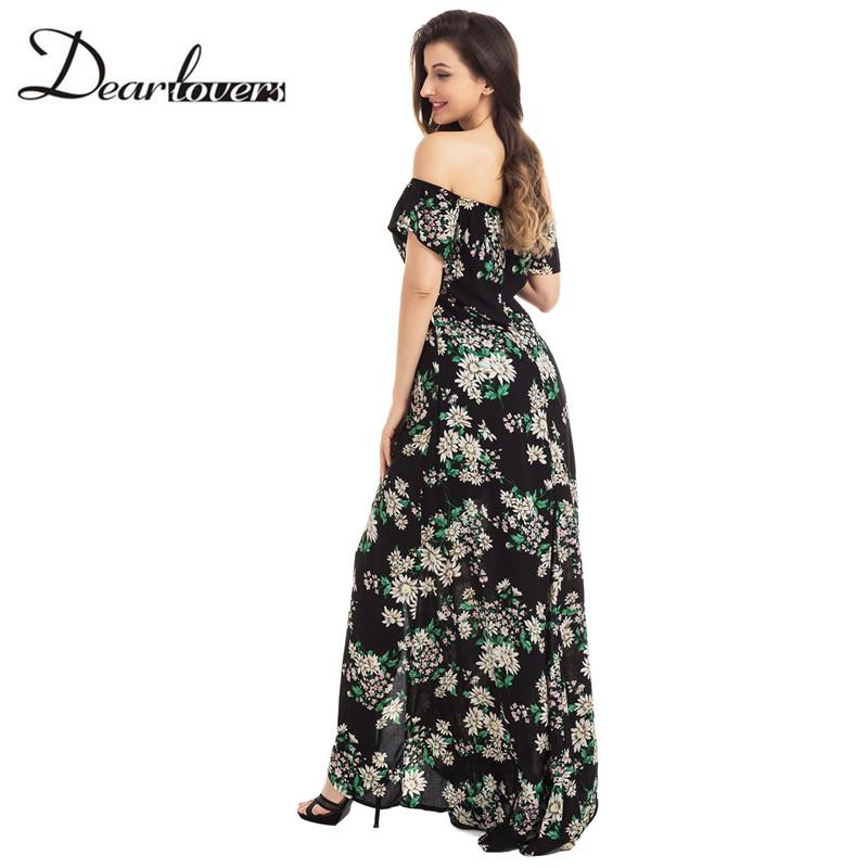HTB1UNa8RXXXXXXeaXXXq6xXFXXX5 - Maxi Dress Floral Slit Romper Long Dress JKP062