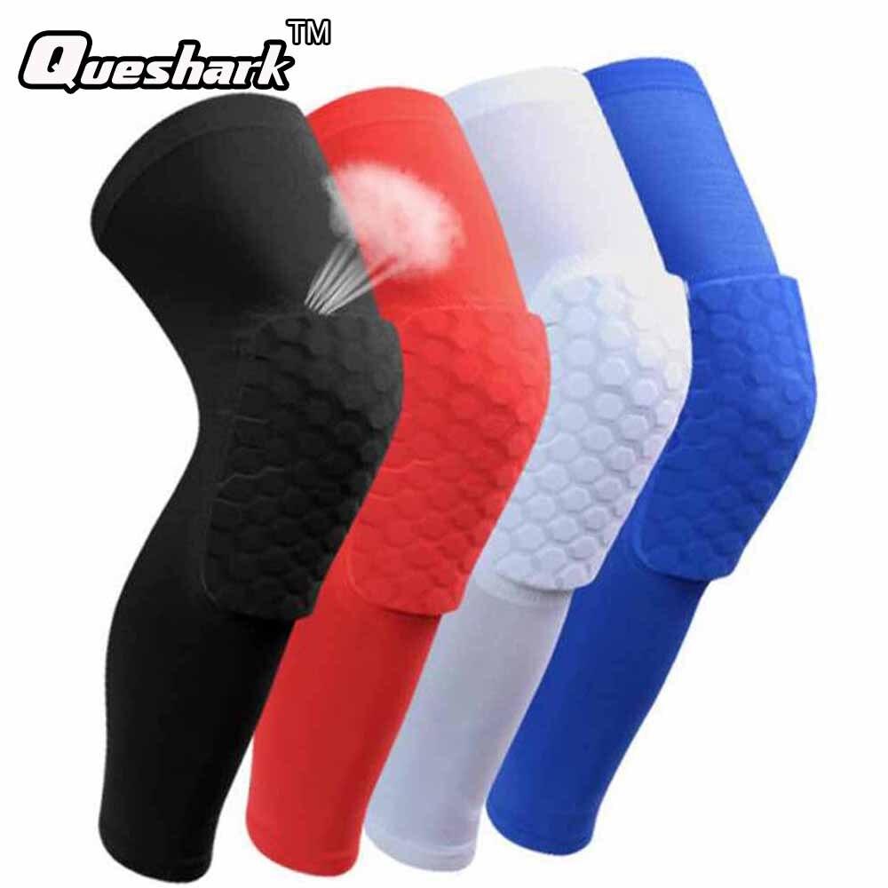 1PCS Knee Brace Honeycomb Kneepad Silicone Anti skid Knee Pad Elbow Support Basketball Leg ...
