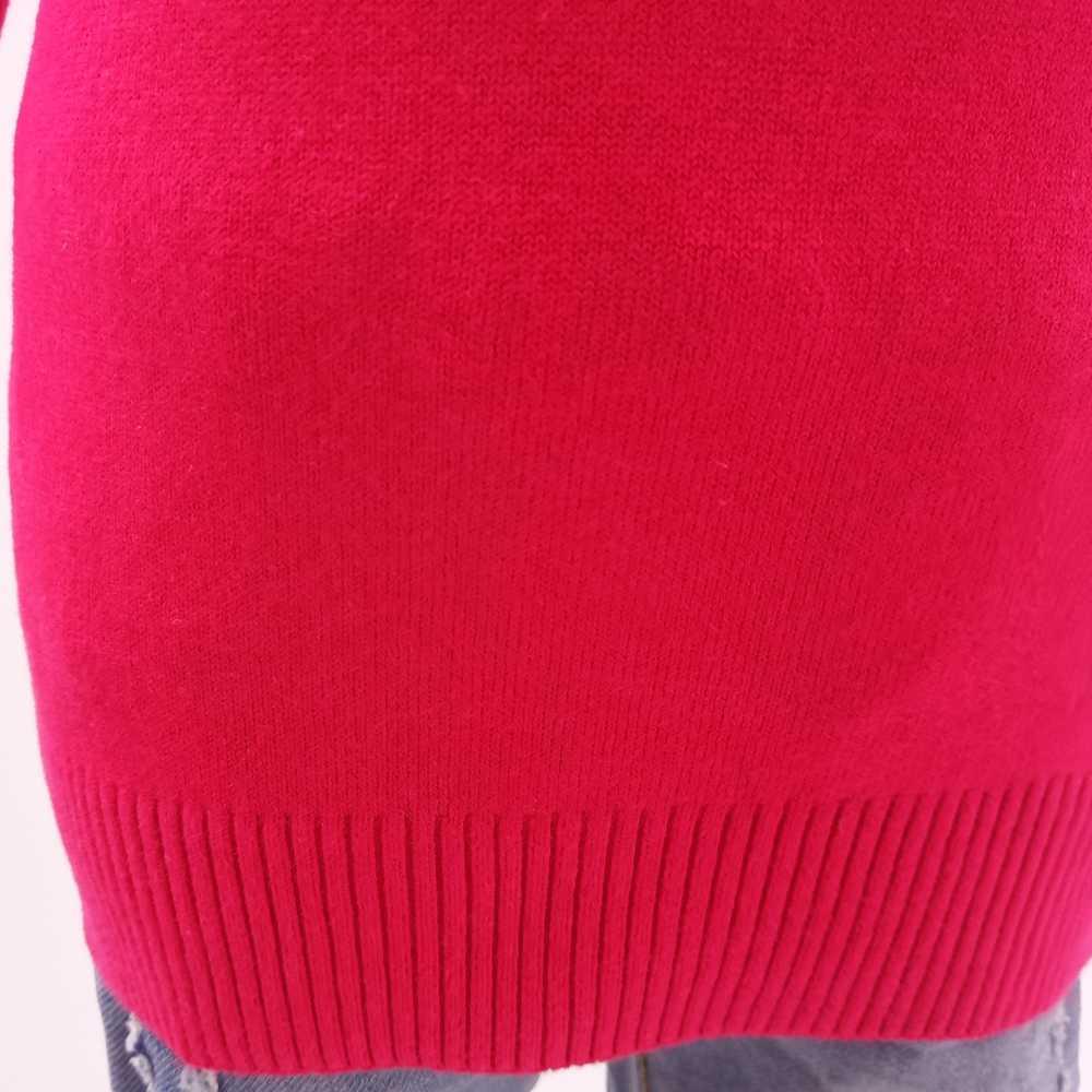 1-5ครั้งเด็กสาวเสื้อกันหนาว100%ผ้าฝ้ายฤดูใบไม้ผลิฤดูใบไม้ร่วงเสื้อผ้าเด็กเสื้อยืดคอเต่าBottomingเสื้อถักเสื้อผ้าสีแดง