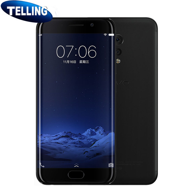 100% Original 3D Curvy Vivo Xplay 6 Xplay6 Mobile Phone 4G LTE Android 6.0 Snapdragon 820 6G+64/128 2K Screen Camera Phone