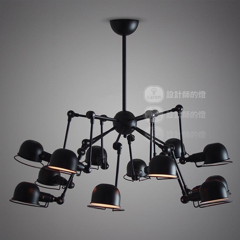 Vintage Chandelier Retro Loft Home Lighting Black Ceiling Lamp Kitchen Light Fixtures Luminaria Avize Lustre In Chandeliers From Lights