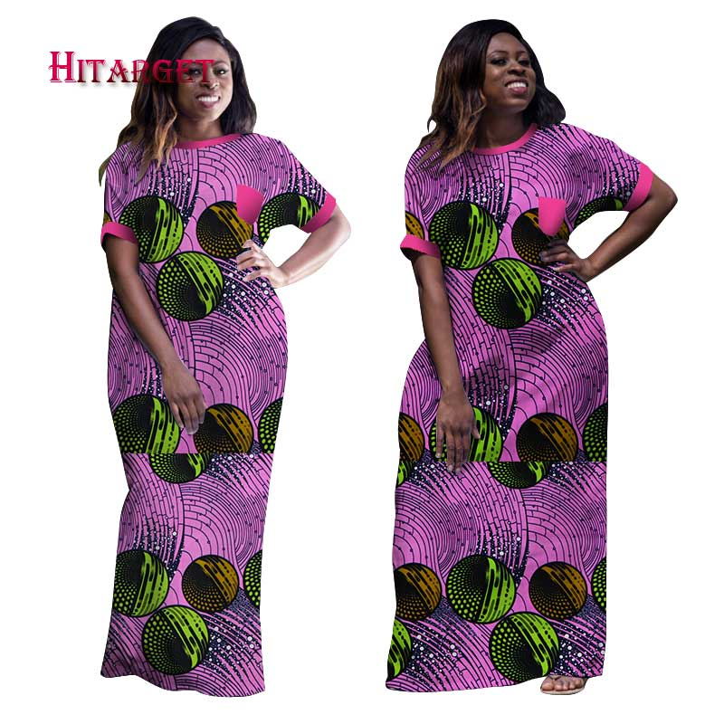 2019  Wholesale African Dresses For Women Dashiki Ropa Africa Traditional Clothing African Robe Long African Print Dresses WY998