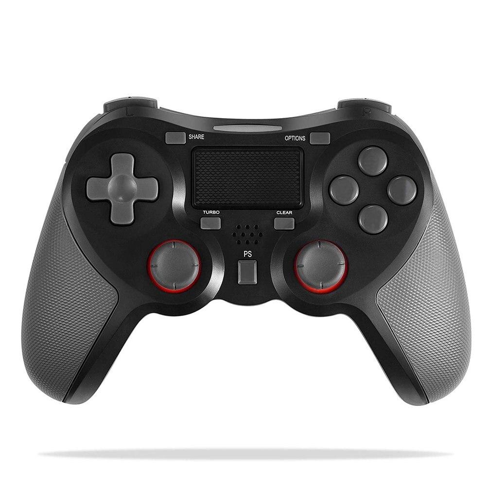 Contrôleur de manette de manette sans fil pour cadeau de manette de manette Double choc PS4