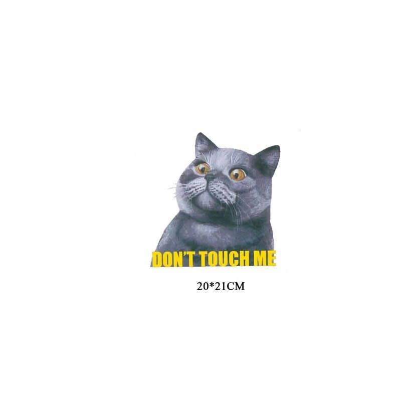 Ferro Toppe E Stemmi per Abbigliamento Carino Piccolo Animale Gatto Unicorno Abbigliamento Top Applicazioni di Trasferimento di Calore Adesivi FAI DA TE Magliette E Camicette Distintivi E Simboli Stampa
