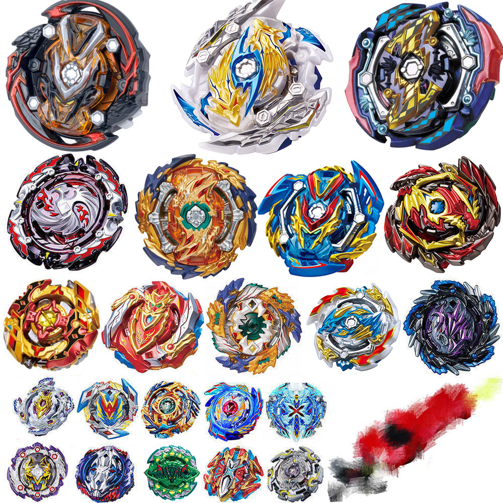 All Launchers Beyblade Burst Toys B-144 B-145 Kids Gift Toupie Bayblade Burst Metal God Bey Blade Blades