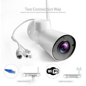 Image 4 - Wireless 1080P 2MP Mini PTZ IP WIFI Della Macchina Fotografica Esterna Onvif Audio P2P del CCTV di Sicurezza Impermeabile Della Pallottola della Macchina Fotografica Della Camma 2.7  13.5 millimetri 5x Zoom