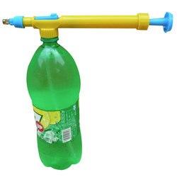 Pulvérisateur arrosage Irrigation Mini jus bouteilles Interface plastique chariot pistolet pulvérisateur tête eau pression fleur jardin