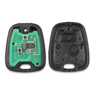Image 4 - Автомобильный ключ KEYYOU, 2 кнопки, 433 МГц, пульт дистанционного управления, без ключа, для Peugeot 307, Citroen, C1, C3, VA2 Blade, с чипом PCF7961