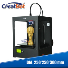 NEW ARRIVING ! HOT Creatbot 3D Printer/3D Metal Printer (250*250*300mm) China Manufacturer with 2 rolls for free