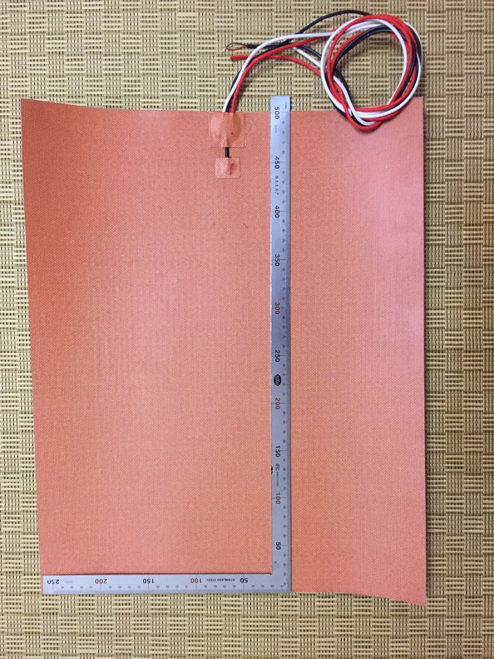 400mmX500mm 1600W 120V, w/ NTC 100K Thermistor,Silicone Heater Huge Mega 3D Printer Heater,Heatbed Large Plate Heating Pad 400mmx500mm 1600w 110v w ntc 100k thermistor silicone heater huge mega 3d printer heater heatbed large plate heating pad film
