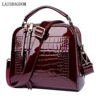 Luxury Designer Women Handbags Genuine Leather Crossbody Shoulder Bags Crocodile Alligator Cow Split Leather Women Bag