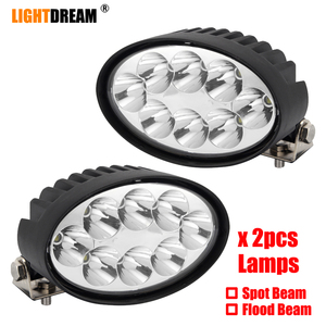 led tractor work lights 40W Wi