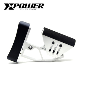 Image 1 - XPOWER TB Adjustable Stock For AEG Air Guns CS Sports Paintball Airsoft Accessories J8 J9 Tactical