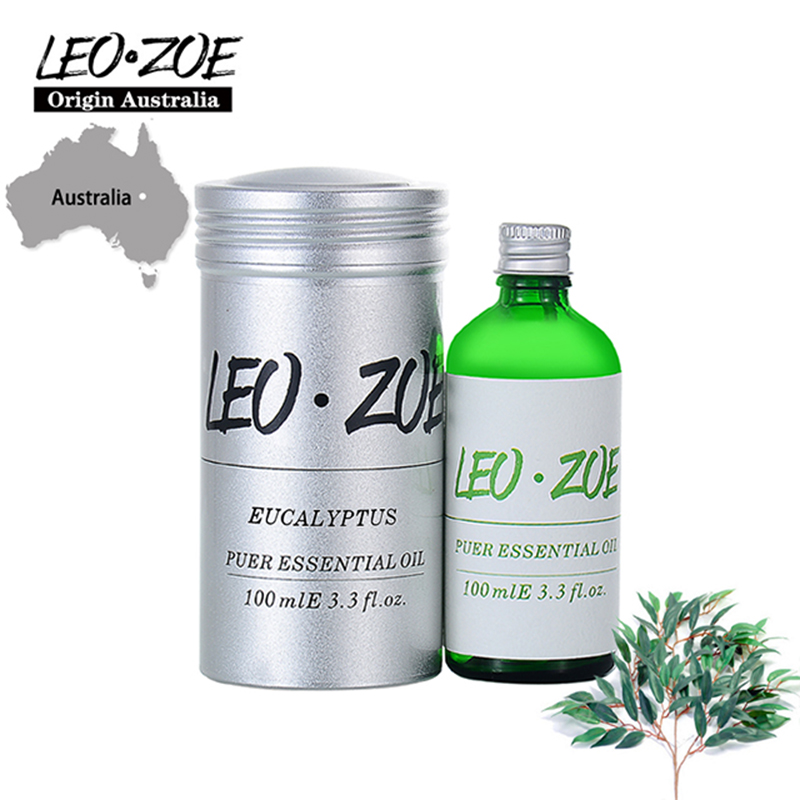 LEOZOE Eucalyptus Essential Oil Certificate Of Origin Australia Authentication Eucalyptus Oil 100ML Etherische Olie leozoe pure camellia oil certificate of origin japan camellia essential oil 100ml essential oil huile essentielle