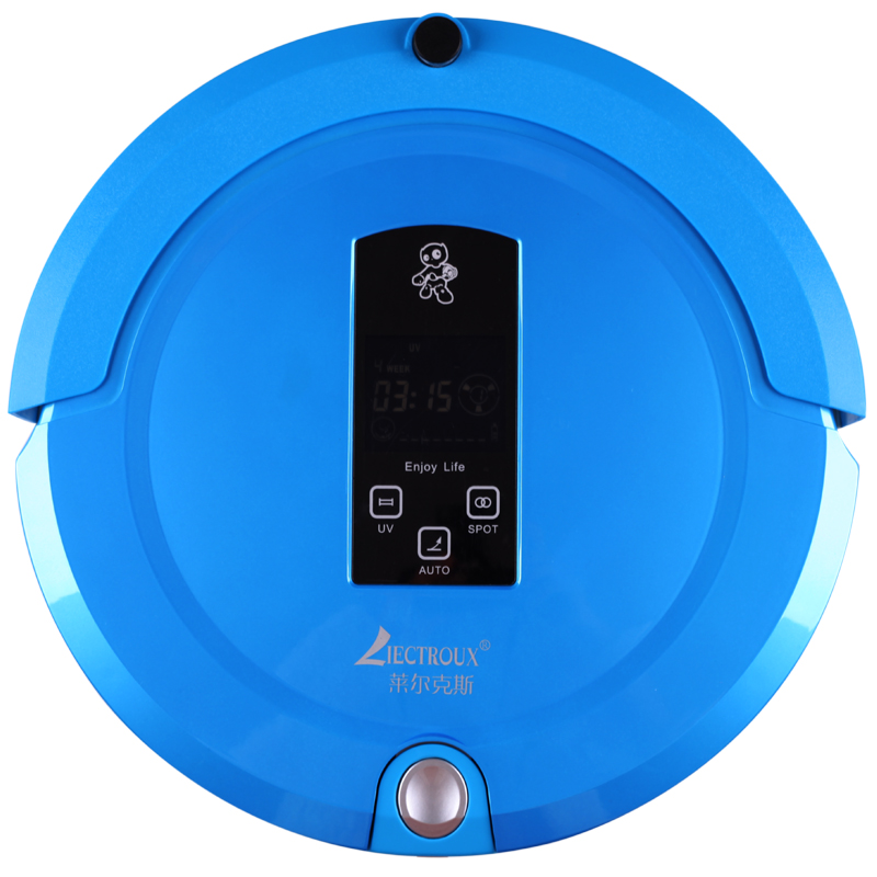 (Free to Russia)Multifunction Robot Vacuum Cleaner(Sweep,Vacuum,Mop,Sterilize),Touch Screen,Schedule, Virtual Blocker,SelfCharge
