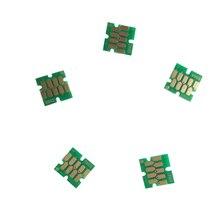 Многоразового картридж чипы для Epson SureColor T3000 T5000 T7000 T3200 T5200 T7200 одно время чипы