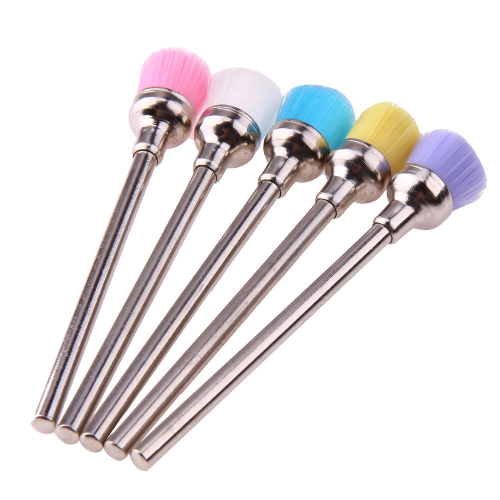 5 unids limpio Cepillos para brocas uñas belleza eléctrica uñas ...