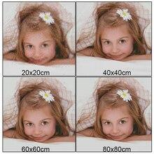 Выполненный на заказ Diy Алмазная картина вышивка крестиком Стразы персональная фотография 100% полное квадратное сверло сделать свой собственный