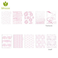 Newest 5 Sheets/Pack PVC A5/A6 Loose Leaf Index Paper