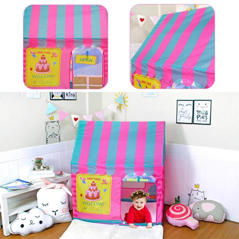 Intérieur extérieur jouet tente enfants jouer tente fille princesse château extérieur enfants maison jouer piscine Playhouse enfants bébé plage tente