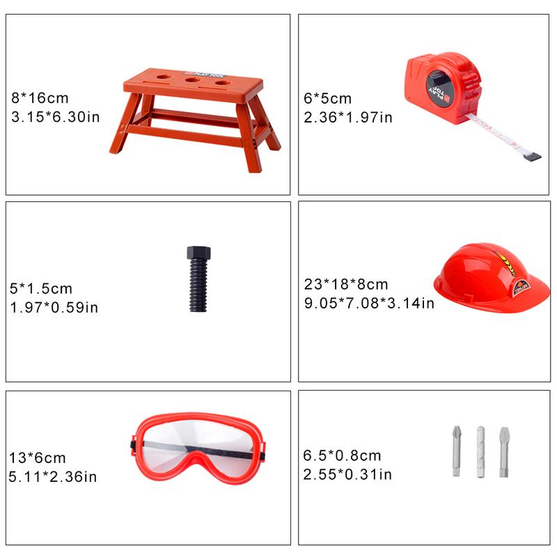 923c47a38 Children Toolbox Set Simulation Repair Tool Drill Screwdriver Repair Kit  House Play Toys Tool Set Puzzle Toy Set For Boys Girls | Profusionwares