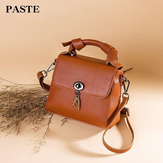 cf697d0fd 2018 PASTE Fashion Messenger Bags Famous Brand Designer Shoulder Bag Women  Crossbody Bag clutch for ladies small bag for girls
