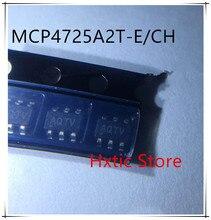 NEW 10PCS/LOT MCP4725A2T-E/CH MCP4725A2T MCP4725A2 MCP725 SOT23-6 IC