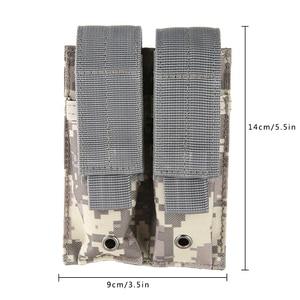 Image 5 - Mới Không Khí Ngoài Trời Súng Bao Tác Chiến Quân Sự Săn Bắn Túi 600D Nylon Molle 2 tay Súng Túi Đóng Bao da thiết thực