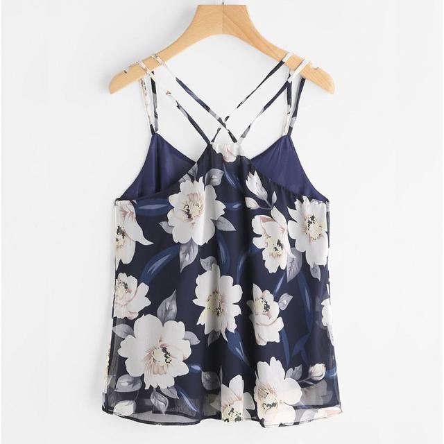 fae9cd888 The New Fashion Womens Chiffon Sexy Sleeveless Halterneck Tank Crop Tops  Vest Blouse T-Shirt