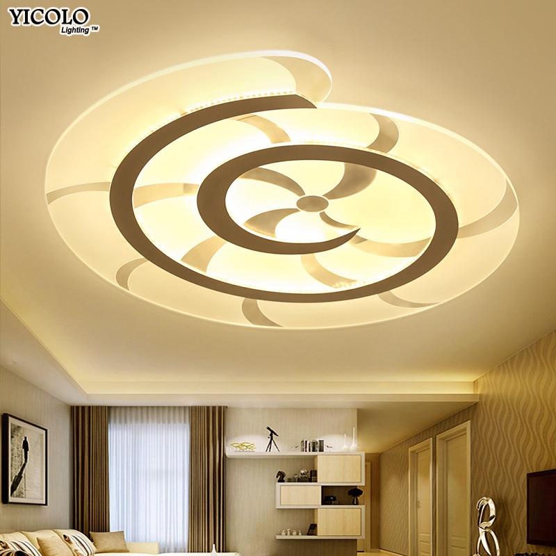 Ultradünne Led Deckenleuchte Mit Fernbedienung Für Wohnzimmer Arbeitszimmer  Dekorative Lampenschirm Deckenleuchte Lamparas De Techo