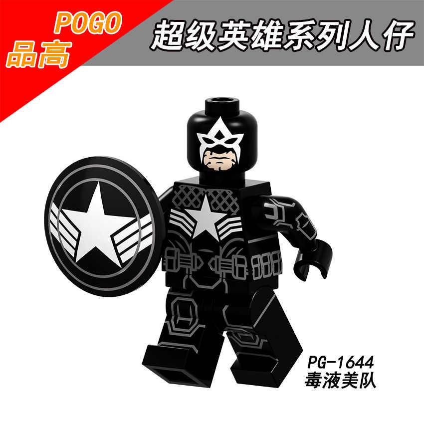 Marvel Super Heroes dane jad lekarz Doom Ghost Rider kolosa Wolverine cyklop klocki chłopcy zabawki PG8187