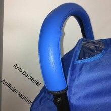 Детская коляска аксессуары Чехлы ручки коляски подлокотник для детской коляски Pu защитный чехол для babyzen yoyo yoya коляска