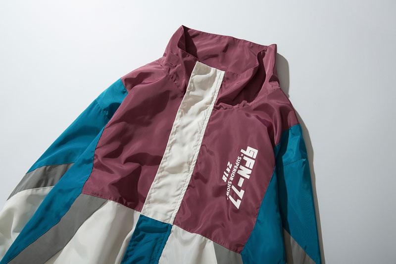 Vintage Color Block Jacket 3