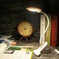 2017 Новое Прибытие Супер Яркий! портативный LED USB Light Гибкая Компьютер Настольная Лампа Чтение Стола Регулируемое Освещение