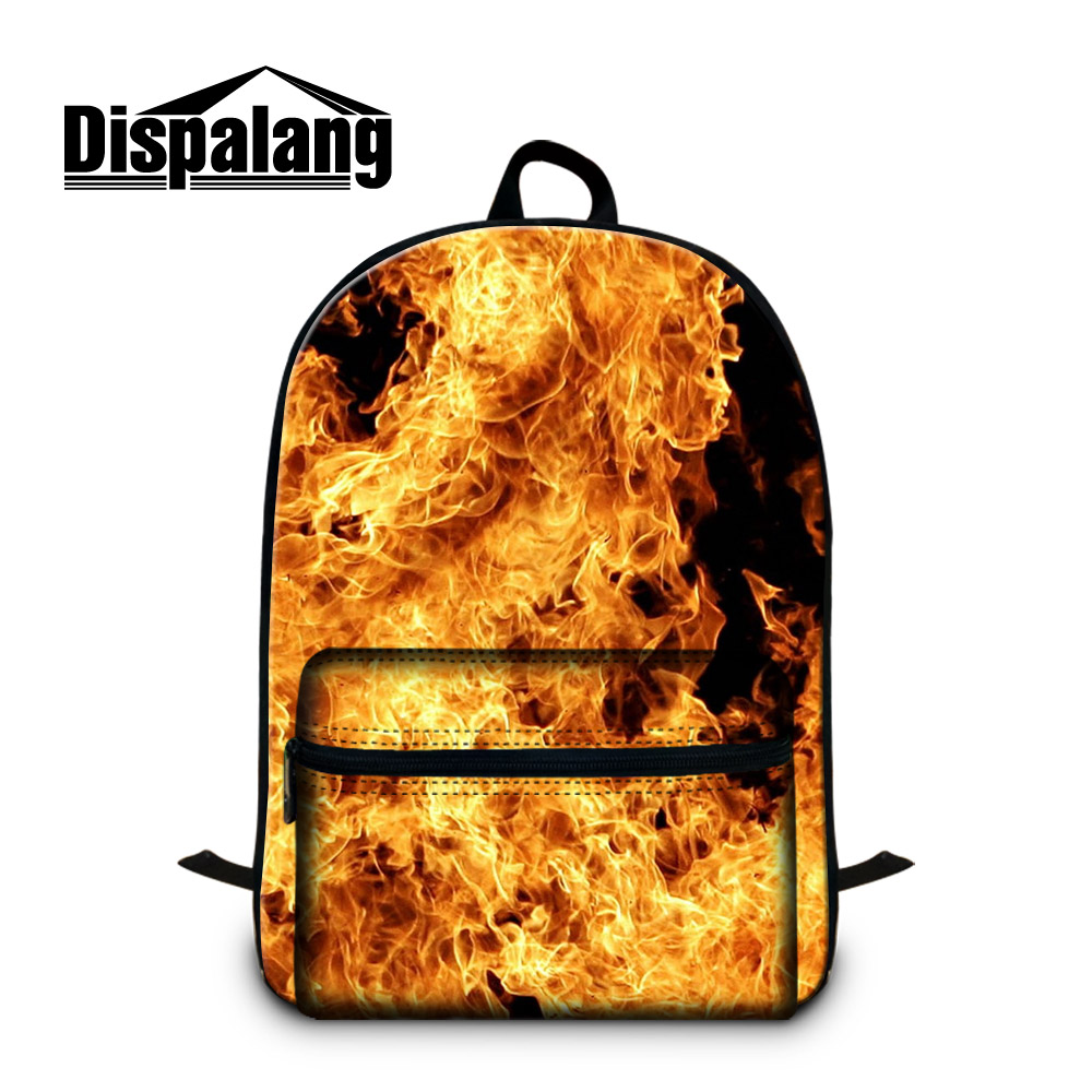 Dispalang Fashion Backpack Pattern for Teenagers Cool backpacker magazine Children Casual day pack Laptop Computer Back Pack