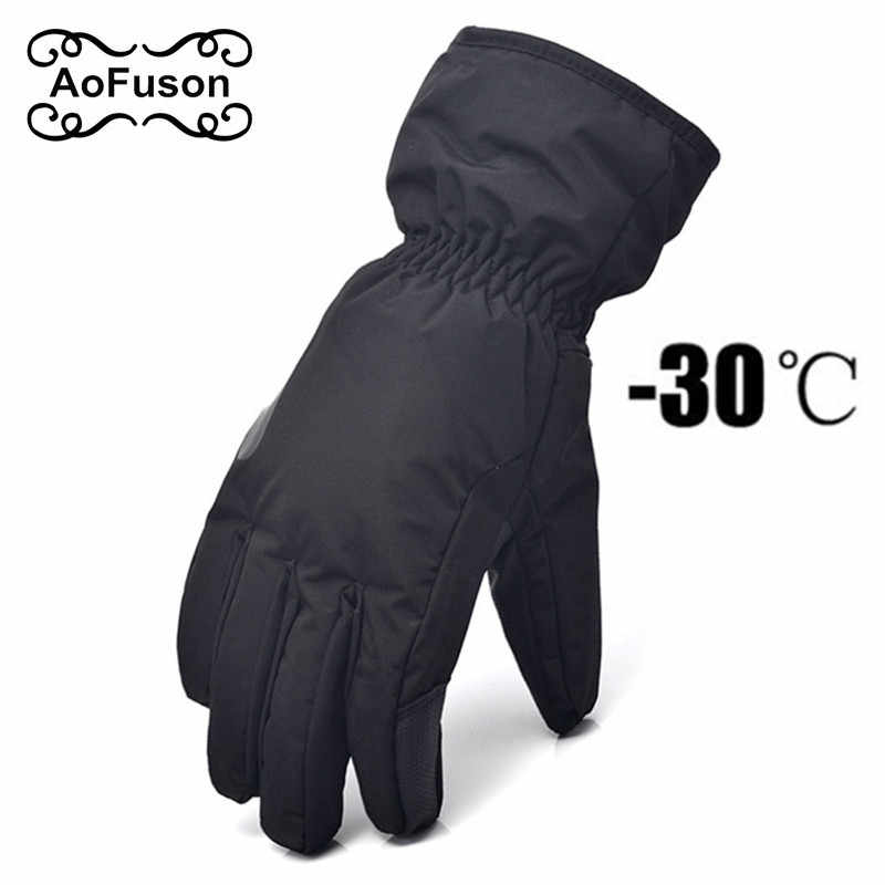 53ea14ee723e54 Detail Feedback Questions about Ski Snowboard Gloves Unisex Outdoor  Windproof Waterproof Kids Breathable Winter Warm Skiing Cycling Snow Women  Men Glove S ...