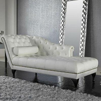 Furniture Continental chaise longue pull the living room small apartment