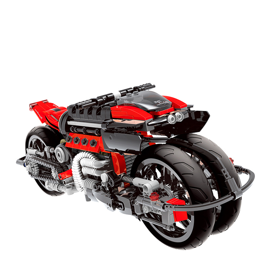 XINGBAO XB-03021 Off-road Motorcycle Building Block 19