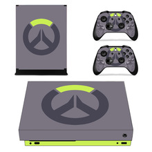 For Overwatch Skin Sticker For Microsoft Xbox One X