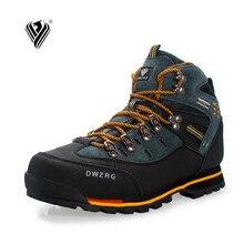 釣り靴新人気アウトドアシューズ & 男性登山靴防水革の靴クライミング