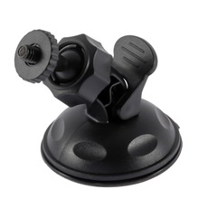 цена на In stock! Mini Universal  Car Suction Cup Mount Tripod Holder Car Mount Holder for Car GPS DV DVR for gopro Camera Accessories