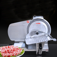 0 2 15mm Thickness 300mm Blade Diameter Frozen Meat Slicer Machine Meat Cutting Machine Semi Automatic