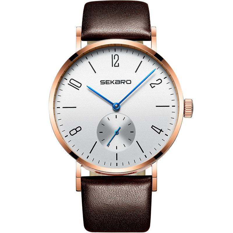 SEKARO 2813 Switzerland watches men luxury brand automatic mechanical Bauhaus watch fashion trend waterproof steel bauhaus